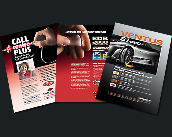 Various A4 leaflets
